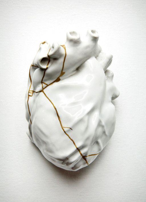 Kintsugi - Arte - Corazón