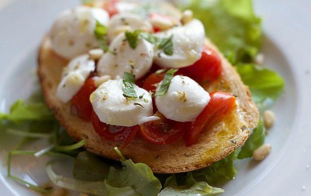 Meriendas saladas y saludables